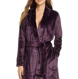 Ugg double face fleece robe in L